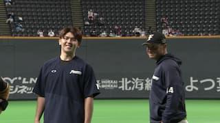 2021/10/13 日本ハム VS 西武[日本ハム:アーリン/清水優心]
