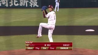 2021/8/28 楽天 VS ロッテ