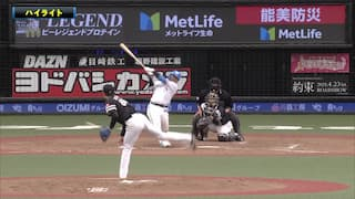 2021/4/18 西武 VS ソフトバンク