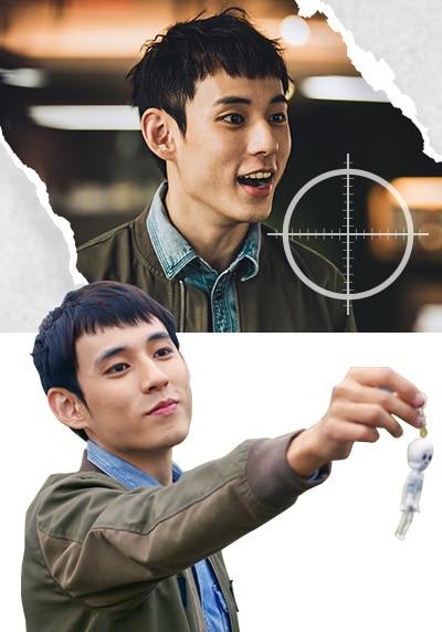 モン・シャオフェイ(孟少飛)役-ジェイク・スー(徐鈞浩)