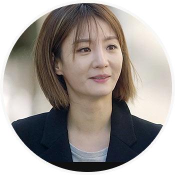 ナ・オッキョン役-チョ・ウンジ