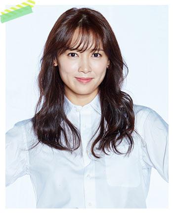 ユン・ハギョン役-ナム・サンミ
