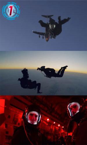 -シリーズ最高高度!成層圏近く上空7620mからのスカイダイビング&低高度開傘(ていこうどかいさん)