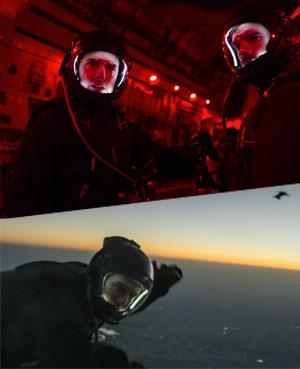 -ヘイロージャンプにトム自身が挑む!