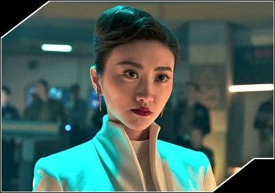 リーウェン・シャオ役-ジン・ティエン