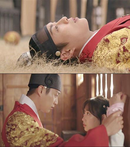 -2.ユン・ドゥジュンが若き世宗大王を熱演。