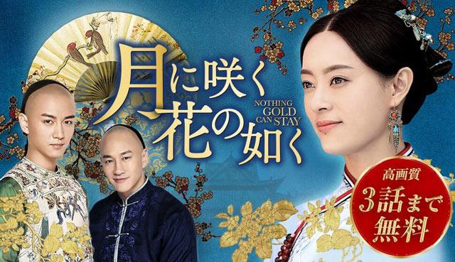 月に咲く花の如く|1話~3話動画が無料動・相関図・キャスト - 中国ドラマ