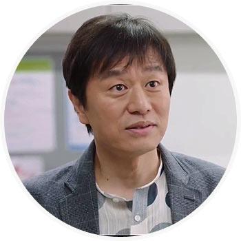 モク・ジヌ役-キム・ミンサン